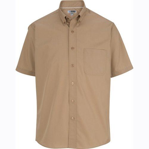 Men's CottonPlus Twill Short-Sleeve Shirt