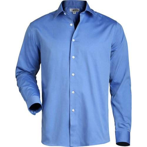 Men's Oxford Non-Iron Point Collar Dress Shirt
