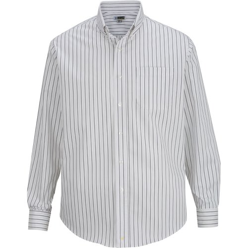Men's Double Stripe Dress Poplin Shirt