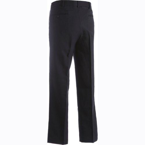 Men's Polyester Flat-Front Pants