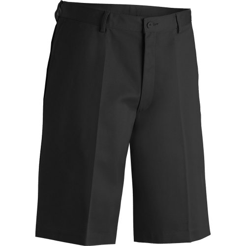 "Men's Blended Flat-Front Chino Shorts–11"" Inseam"