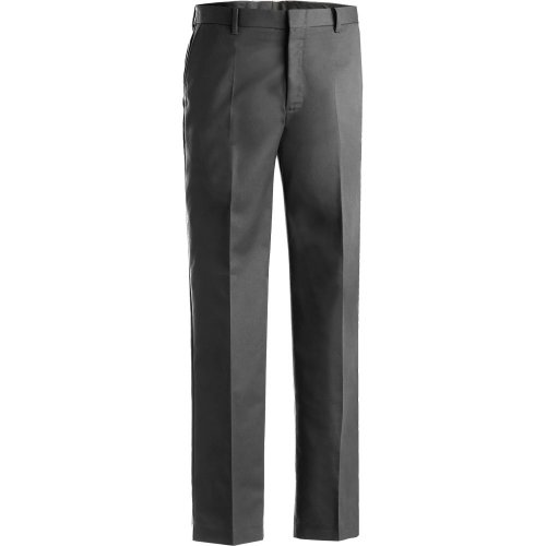 Men's Business Casual Flat-Front Chino Pants