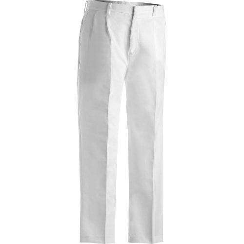 Men's Business Casual Pleated Chino Pants
