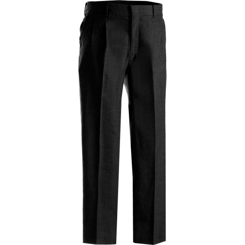 Men's Washable Wool Blend Pleated Pants