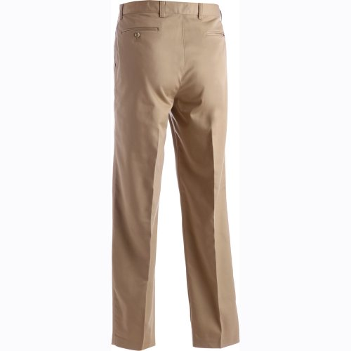 Men's Blended Chino Pleated Pants
