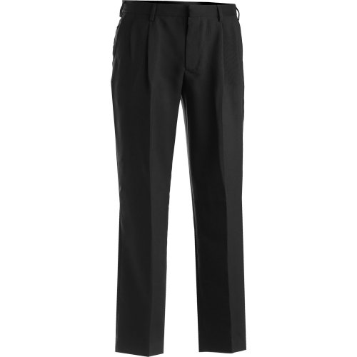 Men's Polyester Pleated Pants