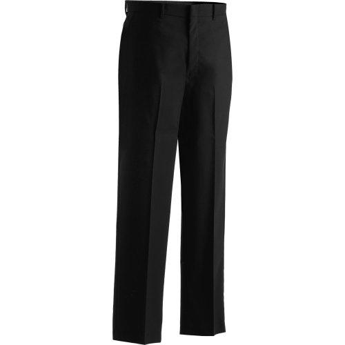Men's Washable Wool Blend Flat-Front Pants