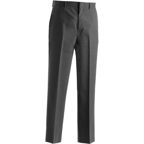 Men's Wool Blend Flat-Front Dress Pants