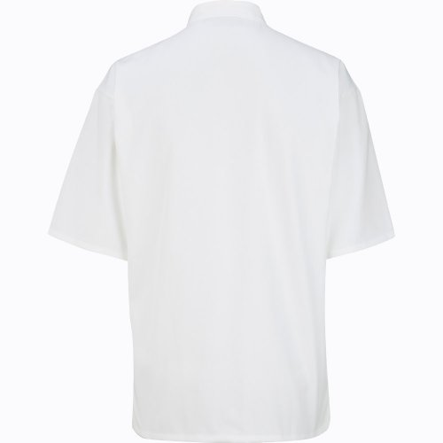 10 Button Short Sleeve Chef Coat