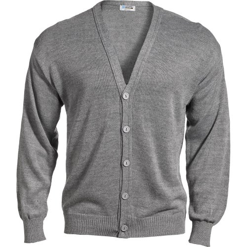 V-Neck Button Acrylic Cardigan Sweater