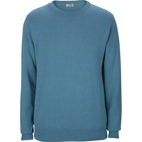 Crew Neck Cotton Blend Sweater
