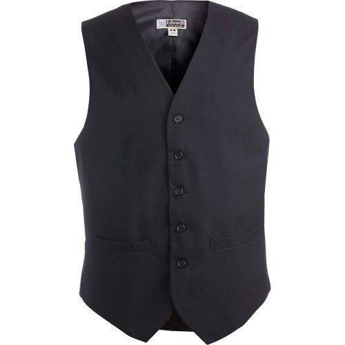 Men's High-Button Vest