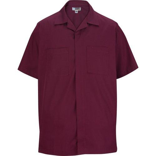 Men's Zip-Front Service Shirt