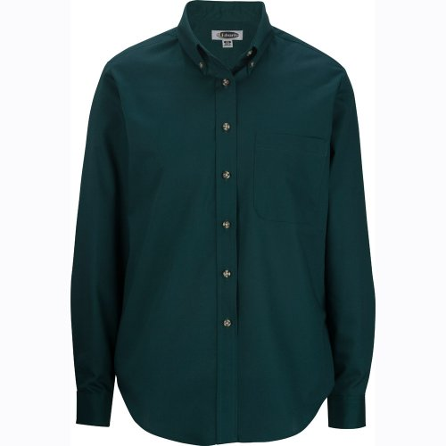 Ladies' Easy Care Poplin Long-Sleeve Shirt