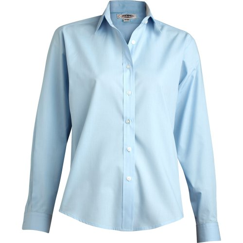Ladies' Broadcloth Value Long-Sleeve Shirt