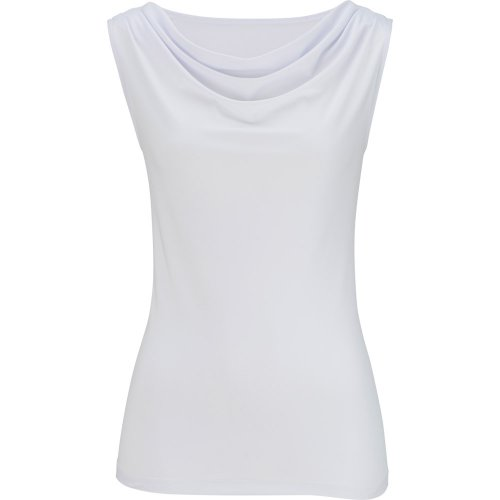 Ladies' Sleeveless Cowl Neck Knit Top
