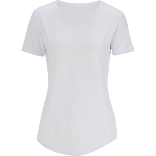 Ladies' Drop-Neck Short Sleeve Knit Top