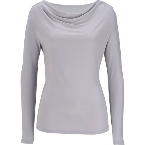 Ladies' Cowl Neck Long Sleeve Knit Top