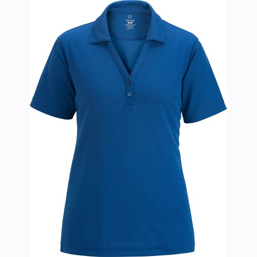 Ladies' Hi-Performance Mesh Polo w/ Johnny Collar