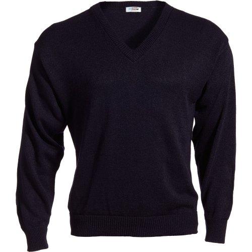 V-Neck Acrylic Sweater