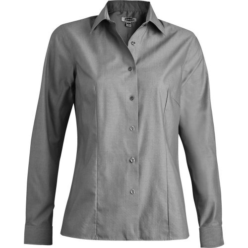 Ladies' Oxford Non-Iron Long Sleeve Blouse