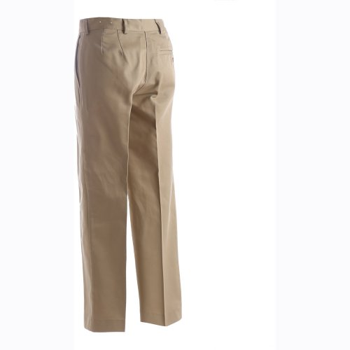 Ladies' Utility Flat-Front Chino Pants