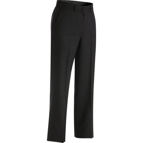 Ladies' Pinstripe Flat-Front Pants