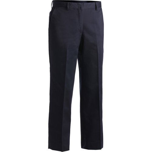 Ladies' Blended Chino Flat-Front Pants