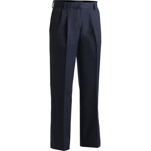Ladies' Business Casual Pleated Chino Pants