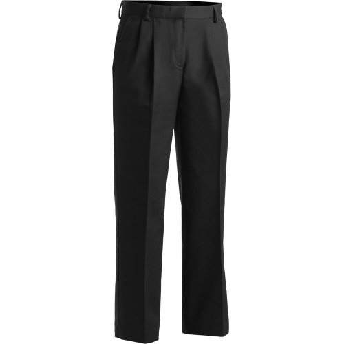 4a9a4073777 ... Ladies  Business Casual Pleated Chino Pants ...