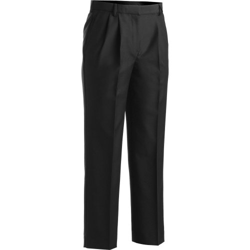 Ladies' Washable Wool Blend Pleated-Front Pants