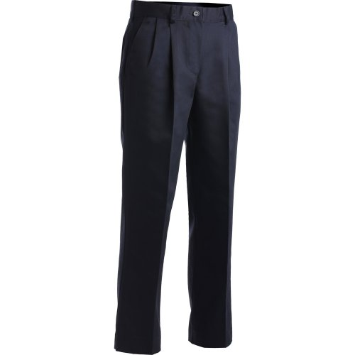 Ladies' Blended Chino Pleated Pants