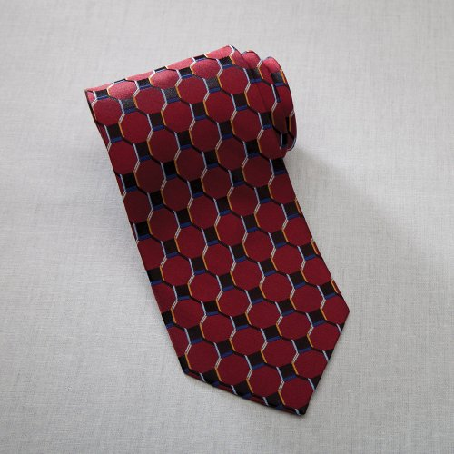 Honeycomb Silk Tie