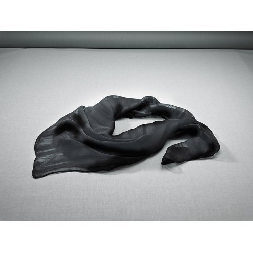 Solid Satin Mixed Weave Scarf