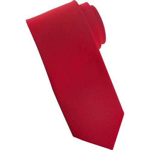 Narrow Solid Tie