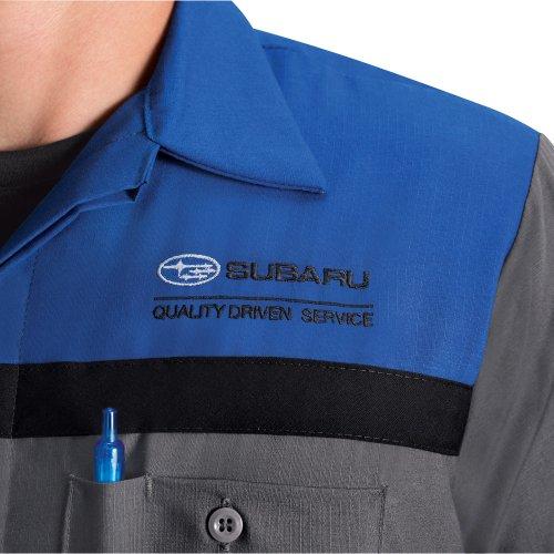 e5b58f8c6d4a Subaru® Technician Short Sleeve Shirt | Red Kap Branded Image ...