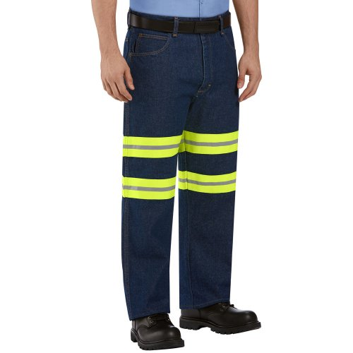 Enhanced Visibility Relaxed Fit Jean
