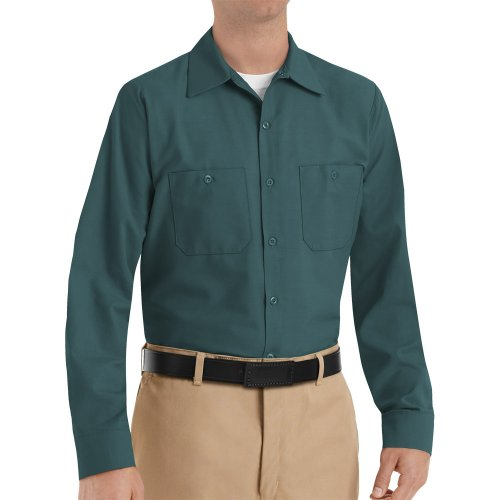 Men's Industrial Long Sleeve Work Shirt