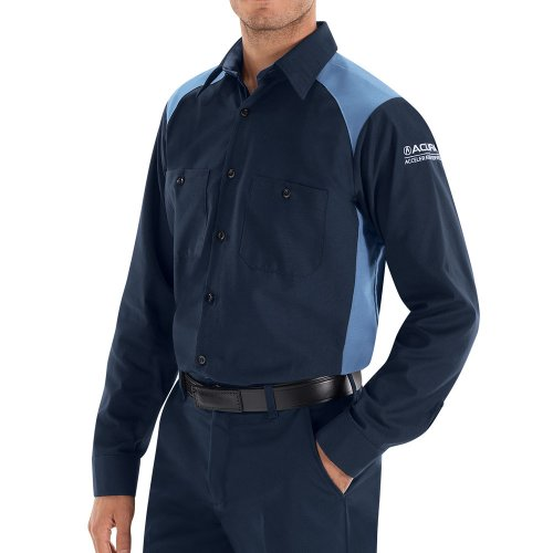 Acura® Accelerated Long Sleeve Technician Shirt