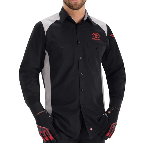 Toyota® Men's Long Sleeve Motorsports Shirt