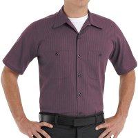 Durastripe® Short Sleeve Work Shirt