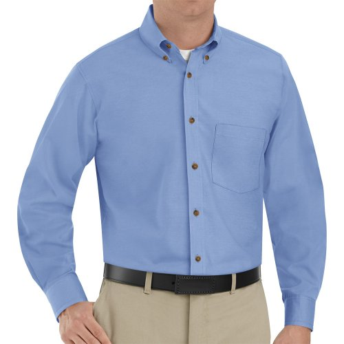 Men's Poplin Long Sleeve Dress Shirt