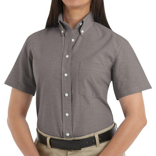 Women's Executive Oxford Short Sleeve Dress Shirt