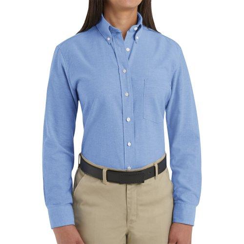 Women's Executive Oxford Long Sleeve Dress Shirt