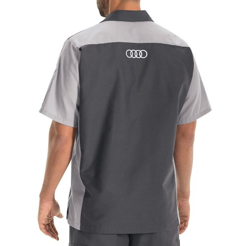 Audi® Alternative Short Sleeve Technician Shirt