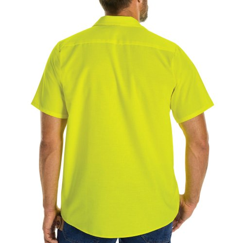 Enhanced Visibility Ripstop Short Sleeve Work Shirt
