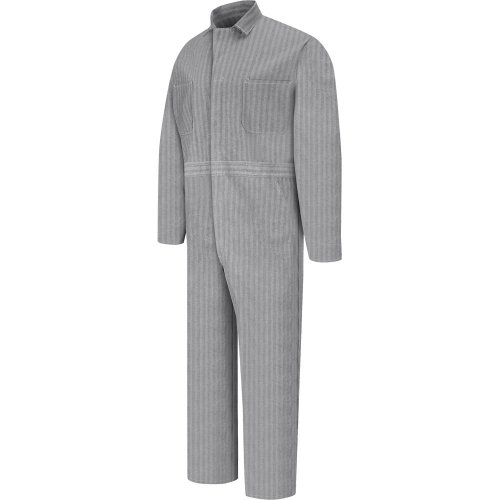 Snap-Front Cotton Coverall