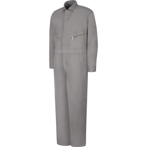 Zip Front Cotton Coverall