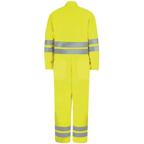 Hi-Visibility Zip-Front Coverall Type R, Class 3