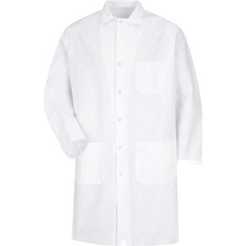 Gripper Front Butcher Coat